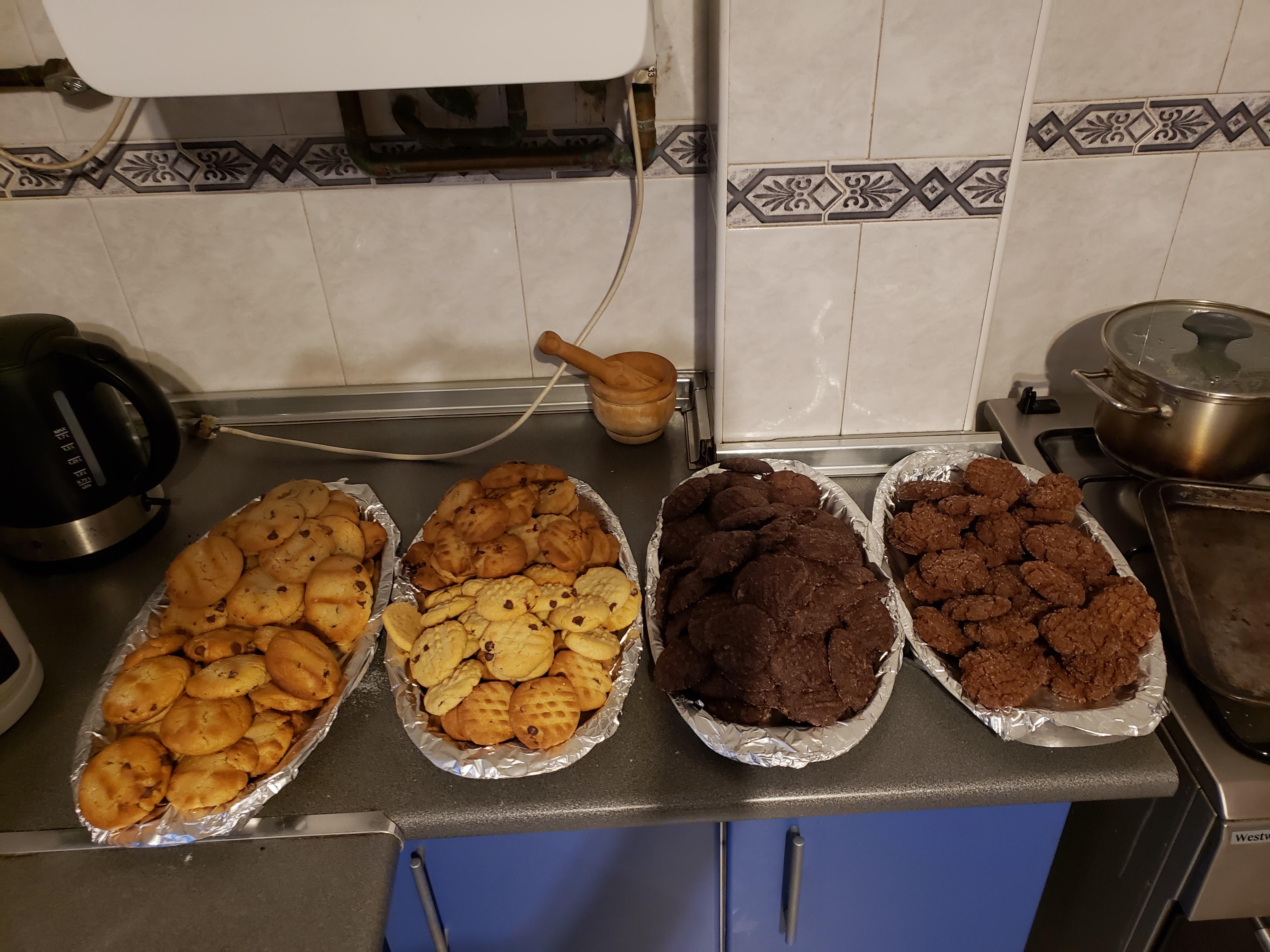 Freshly Baked Cookies = Love